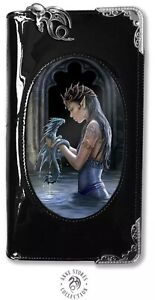 ANNE STOKES WATER DRAGON 3D Purse / Wallet PVC 3D Lenticular picture Gothic