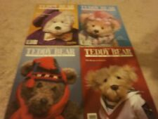 4 VINTAGE Teddy Bear Review Magazine 1988 WINTER,SUMMER,SPRING,FALL YEAR