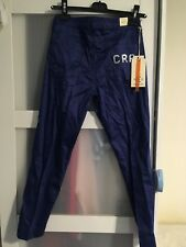 Ladies Trousers,Straight Leg,Elastic Cotton Cerutti Size S(8)waist 25) New