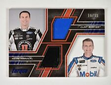 2017 Panini Torque Pairings Materials Blue #4 Clint Bowyer Kevin Harvick /99