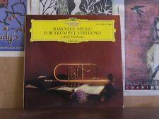BAROQUE MUSIC TRUMPET, SCHERBAUM - DGG LP 136 470