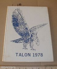 1978 O'Neal High School yearbook Southern Pines North Carolina NC Moore County
