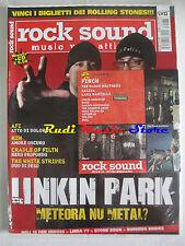 rivista ROCK SOUND 60/2003 + CD Finch +POSTER Placebo Gathering Linea 77 Afi Him