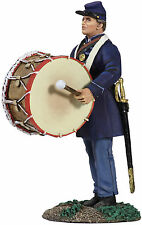 BRITAINS SOLDIERS CIVIL WAR UNION  INFANTRY BASS DRUMMER WB31205 METAL MILITARY