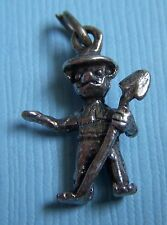 Bear sterling charm Vintage Smokey the