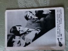 A2b trade card a&bc the monkees no 16 creased bw