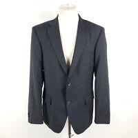 Tommy Hilfiger Tailored Sakko L-SamyJr-Davis Herren Gr. 50 Grau Wolle Jacke