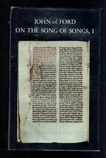 John of Ford; Sermons On The Final Verses Of The Song Of Songs. I 1977 Good