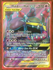 Pokemon Card Alolan Muk GX 84//147 Holo Foil Ultra Rare Full Art M//NM