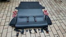 Rear Leather Seats Complete Honda CRX JDM EDM EF8 EE8 ED9 SI HF DX 88-92 @RARE@