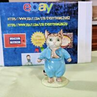 Vintage Beatrix Potter Tom Kitten All-Gold Stamp BP2a BESWICK ENGLAND 1955-1972