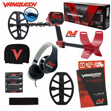"Minelab Vanquish 540 Metal Detector with V12 12"" x 9"" Waterproof Dd Coil"