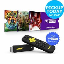 NOW TV Stick with 2 Months Sky Cinema and 1 Day Sport Pass.