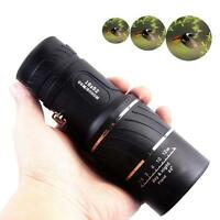 Focus 16X52 Zoom Monocular Telescope Lens Travel Spotting Scope HD Device UR UR