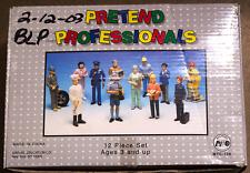 Pretend Professionals Figures Set of 12 NEW