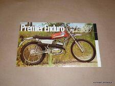 NOS Premier 125 Enduro Foldout Brochure Moto Beta Berliner guzzi ducati importer