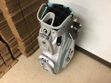 Mint 2021 Callaway Org 14 Cart Bag / White Silver Light Blue / With Rain Cover