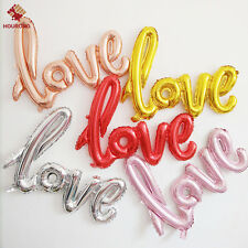 Foil Balloon LOVE Letter Birthday Wedding Party Anniversary Helium Decor New