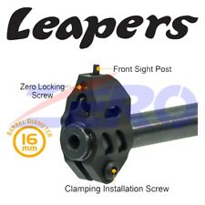 Leapers Front Sight Ruger 10/22 Mossberg 702 Rifle Aluminum 16mm Diameter Matte