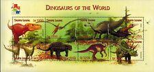 MODERN GEMS - Sierra Leone - Dinosaurs of the World III - Sheet of 8 - MNH