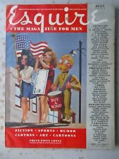 Esquire Magazine - July 1944 Issue, VARGA Pinup, WWII Print