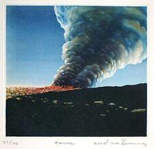 """Arnd Maibaum, """"Fanal"""", 1979 Radierung, handsigniert"""