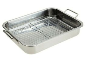 High Quality Stainless Steel Roasting Lasagna Pan With Rack