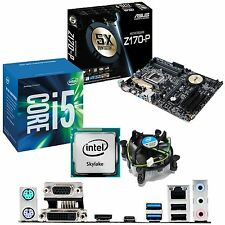 INTEL Core i5 6400 2.7Ghz & ASUS Z170-P - Motherboard & CPU Bundle