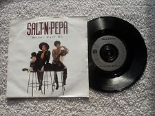 "SALT N PEPA  DO YOU WANT ME FFRR RECORDS  UK 7"" VINYL SINGLE in PICTURE SLEEVE"