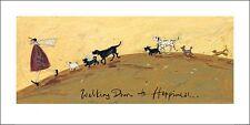 SAM TOFT (WALKING DOWN TO HAPPINESS) Cat No: PPR41087 ART PRINT 100cm x 50cm