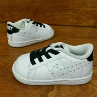 Nike Tennis Classic Premium (Toddler Size 4C) Athletic Sneakers White Black