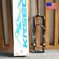 "KRSEC XC20 Crown Suspension Fork 1-1/8 Threadless Mountain Bike 26/27.5/29"" Fork"