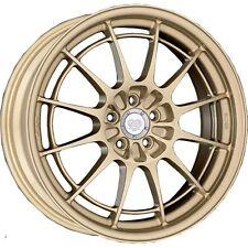 Enkei NT03+M 18x9.5 5x100 40mm Gold Wheel 365-895-8040GD WRX STi VW Subaru