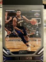 2020 Panini Chronicles Zion Williamson SP Playbook Rookie🏀📈Pelicans