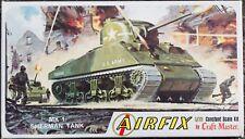 Airfix Craft master MK1 Sherman Tank Series M4-50 1/72 Scale NOS Free USA Ship