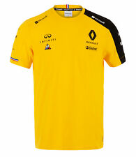 Sale! Renault Sport F1 Team Official Mens T-Shirt YELLOW Tee Formula 1 Product