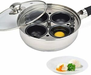 Egg Poacher Pan - Stainless Steel Poached Egg Cooker – Perfect Poached Egg Maker