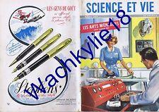 Science et vie n°390 03/1950 Arts ménagers Bernard-L'ermite Roquette Télévision