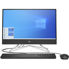 HP All-in-One 22-df0120m Bundle PC