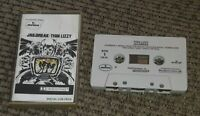 Thin Lizzy Jailbreak 1976 Hard Classic Rock Roll Cassette Tape Pop TESTED