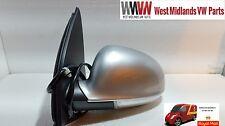 BRAND NEW VW GOLF MK5 04 - 08  PASSENGER SIDE WING MIRROR IN REFLEX SILVER LA7W