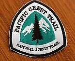 Patch Pacific Crest Trail - PCT  Hiking and Equestrian trail  California