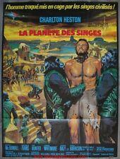 PLANETE DES SINGES Affiche Cinéma / Movie Poster Charlton Heston 160 x 120