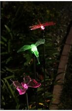 NEW 3 Piece Decorative Solar Light Set