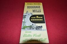 John Deere Roughage Mills For 1946 Dealer's Brochure Dcpa5