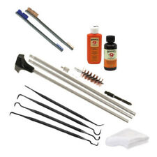 Hoppes 12ga Shotgun Cleaning Kit with Tipton Picks, Nylon Brush & Bronze Brush