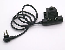 Z-Tactical U94 PTT Military Adapter PTT Z113 for Motorola Radio 2 PIN GP68 CP150