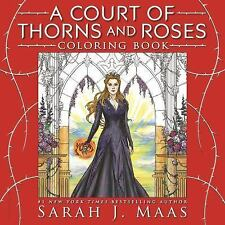 A Court of Thorns and Roses Coloring Book by Maas, Sarah J.