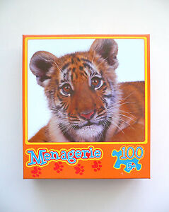 "Adorable ""TINY TIGER"" 100 Piece Jisgsaw Puzzle 5+ BNIB"