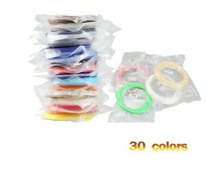 Filament Printing Materials Plastic Pens Accessories Solid 10 Colors 3D Printers